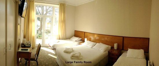 The Clarence House Hotel: Large Family Room