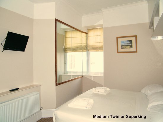 The Clarence House Hotel: Medium Twin or Superking Room