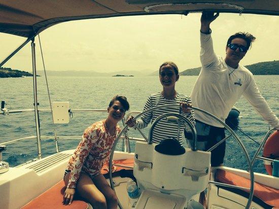 Sail Safaris: My girls with Trey
