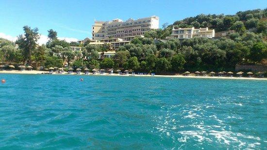Grecotel Eva Palace from the bay :)