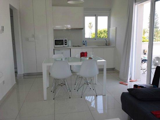 Mon Repos Design Hotel : Köket