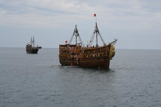 Hotel Vendome El Ksar Resort & Thalasso : Excursion: Pirate Ship Family Trips