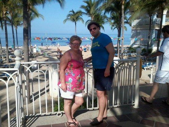 Hotel Riu Vallarta: Beach direct from the Hotel