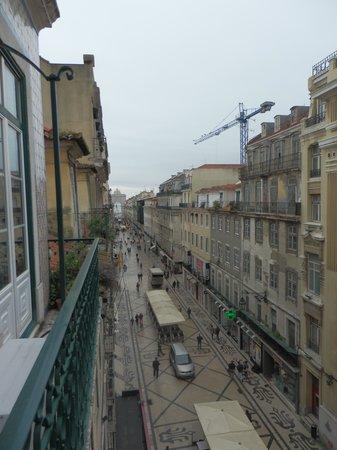 Hotel Lisboa Tejo: vistas apartamento
