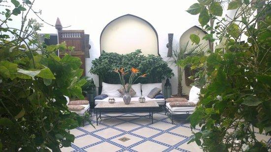 Riad Karmela : Courtyard