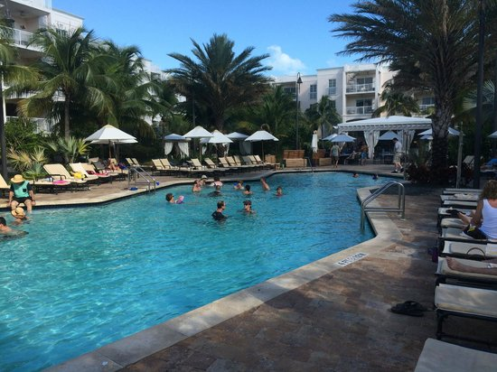 Key West Marriott Beachside Hotel : The pool area