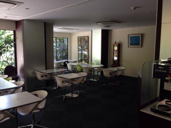 Hotel Matsumotoya 1725: 朝食スペース