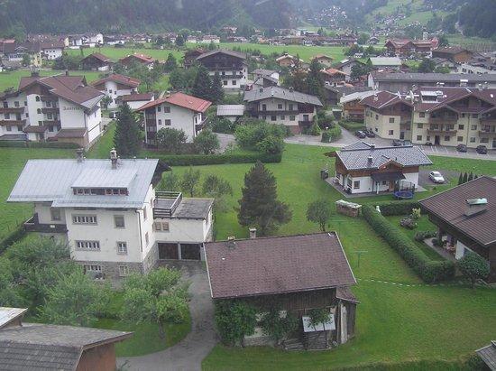 Berghof: Вид на город с фуникулера