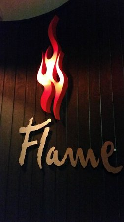 Flame Bar and Grill: logo