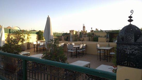 Riad Karmela: Roof Top Terrace