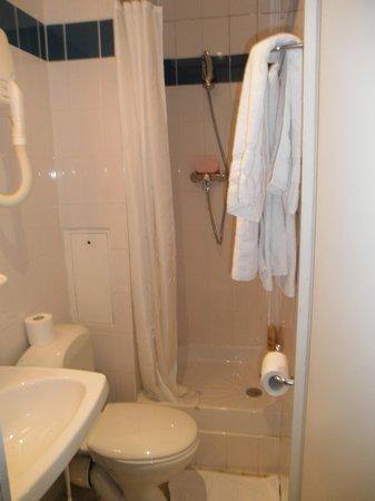 Hotel Nemours : badeværelse
