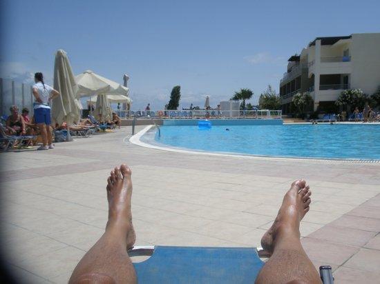 Kipriotis Aqualand: 1 of 6 pools (3 are for children)
