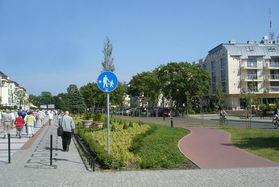 Swinoujscie, Pologne: Променад
