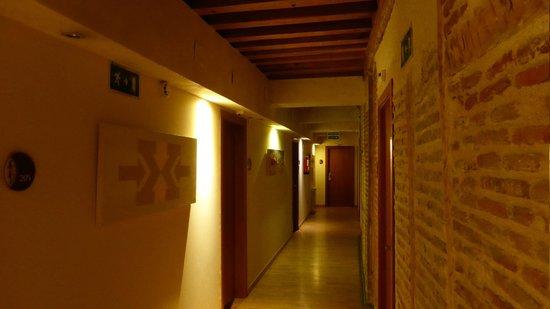 Hotel las Leyendas : Corridoio camere primo piano
