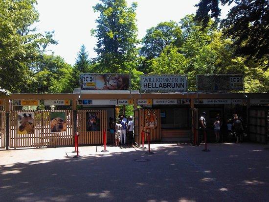 Tierpark Hellabrunn: 慕尼黑动物园门口
