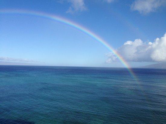 Kahana Beach Resort  - View from Room