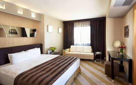 Point Hotel Taksim: Senior Suite Bed Room