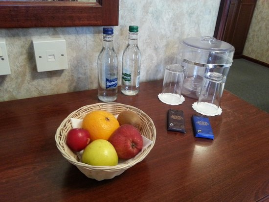 The Heights Hotel: Welcome treats