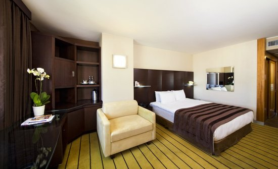 Point Hotel Taksim: Deluxe Room with French Bed