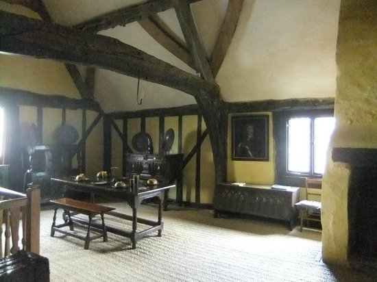 Aberconwy House, upstairs room