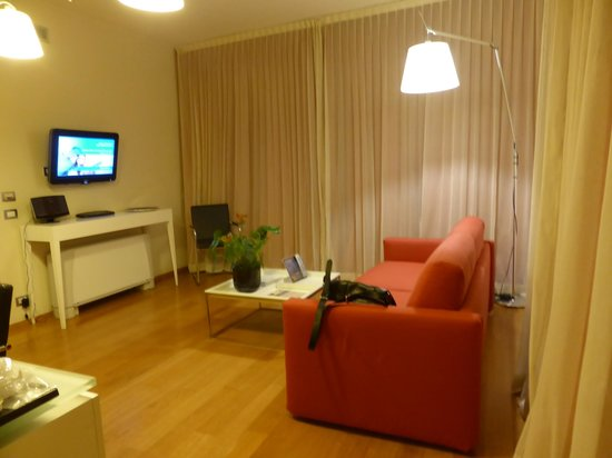 Mercure Milano Solari : The sitting area