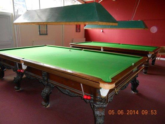 Warner Leisure Hotels Gunton Hall Coastal Village: Snooker Hall