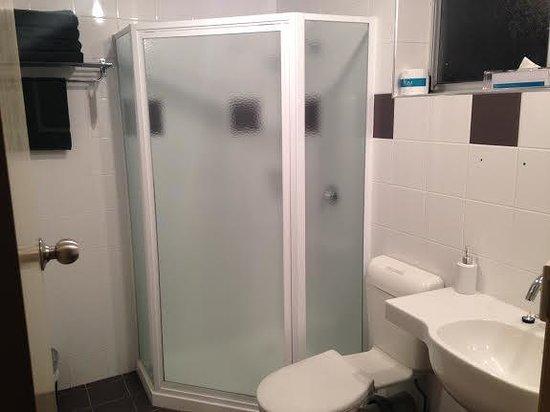 Comfort Inn On Raglan: Bathroom, pretty nice; with stand-up shower