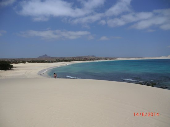 Royal Horizon Boa Vista : On top of the sand dune