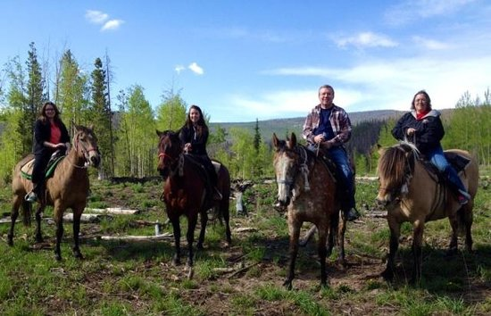 Sombrero Stables at Snow Mountain Ranch: On a horse, on a mountain, on top of the world!
