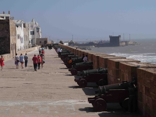 Remparts d'Essaouira : fortifications, canons portugais
