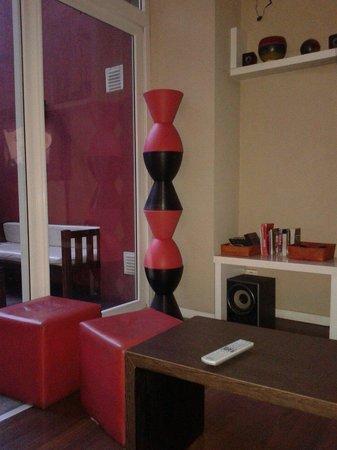 Circus Hostel & Hotel: Sala de estar