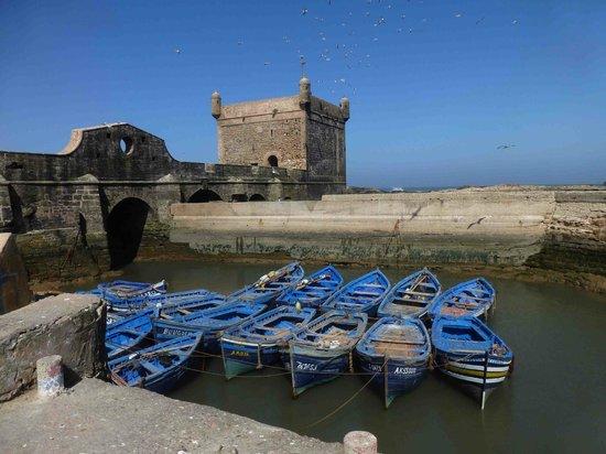 Remparts d'Essaouira : Le port fortifié