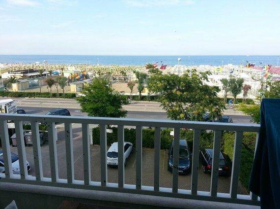Le Rose Suite Hotel: dal balcone della camera