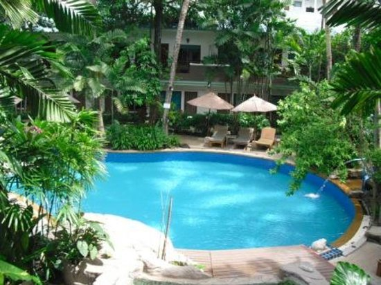The Viridian Resort: view from balcony