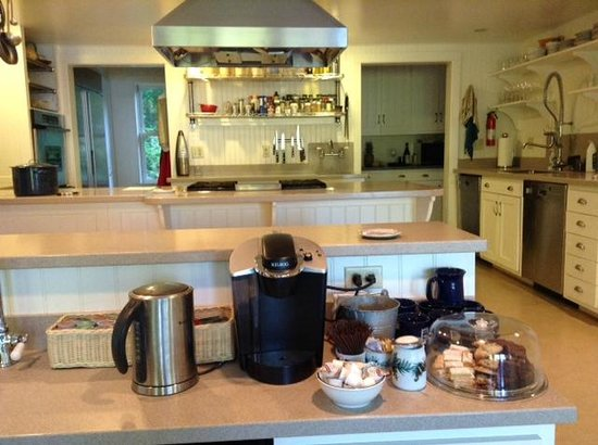 Coveside Bed and Breakfast : our snack bar