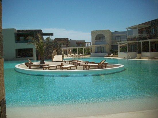 Ostria Resort & Spa : terrasse de la chambre