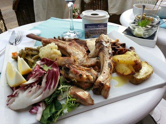 Osteria Del Porto: Für den großen Hunger