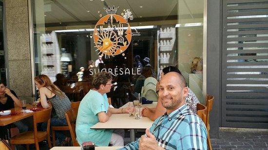 Creperie Sucre Sale: عبودي أن بريبيرق
