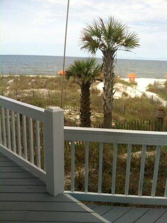Driftwood Inn : Ocean view from our back door