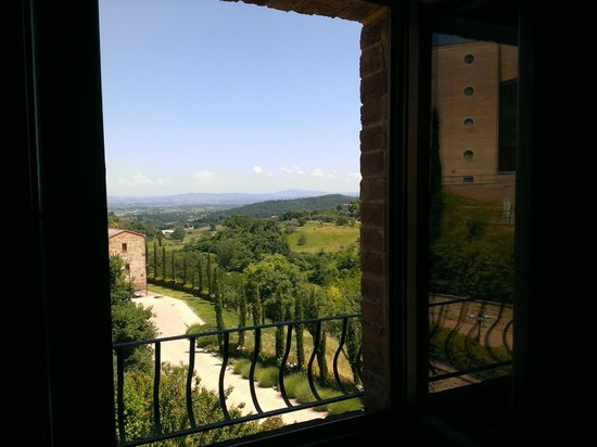 Etruria Resort & Natural Spa: view from our room