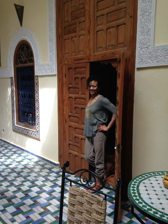 Dar Zouhour: outside a room