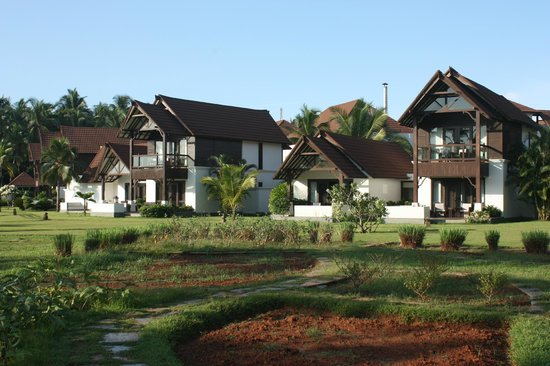 The Lalit Resort & Spa Bekal : River facing rooms.
