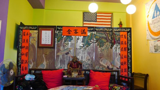 Penghu Moncsor International Youth Hostel: lovely lobby