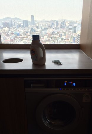 The Classic 500 Executive Residence Pentaz: Washing machine
