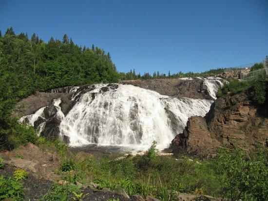 Scenic High Falls: The Falls