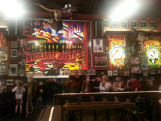 Big Nose Kates Saloon: Interior of restaurant and bar