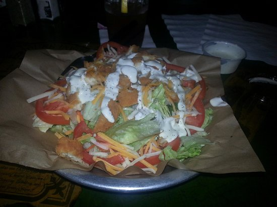 Big Nose Kates Saloon : Chicken salad