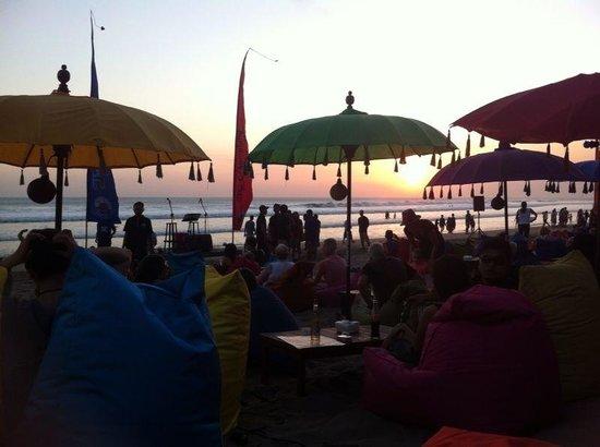 The Champlung Bar & Restaurant: Sunset