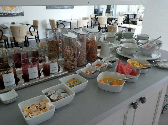 Villa Norderney: Frühstück