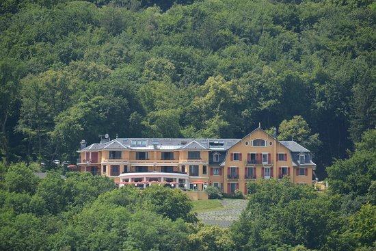 Les Tresoms, Lake and Spa Resort : L'hôtel vu du lac